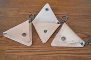 三角ケース革カフェ2