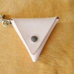 三角コインケースイタリアヌメ1