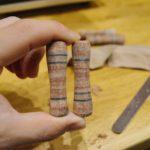 革ペン製作風景3